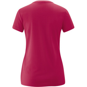 Maier Sports Trudy T-Shirt Femme, persian red